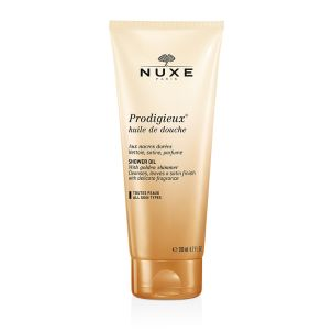 Prodigieux® Aceite de ducha http://es.nuxe.com/tratamientos-prodigieux-es-565/prodigieux-aceite-de-ducha-limpia-satina-y-perfuma-tubo-200-ml