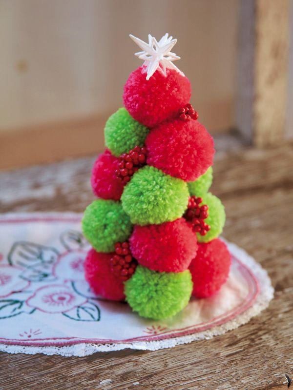 クリスマス飾りはもうできた? 今年の大注目は毛糸のポンポン! - ライブドアニュース