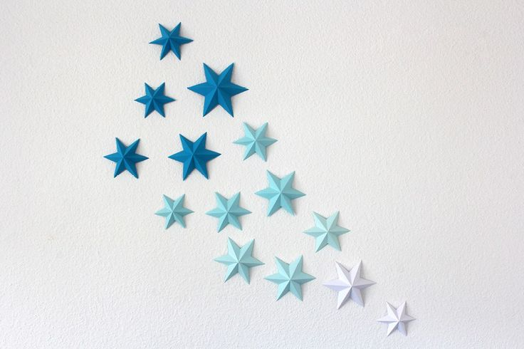 diy 3d paper stars tutorial paper pinterest papiersterne anleitungen und papier. Black Bedroom Furniture Sets. Home Design Ideas