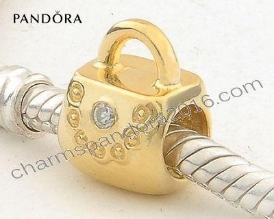 Pandora Charms Pas Cher - Pandora Bijoux Vente Or Perles Verrouillage Gp030 - Pandora Charms Pas Cher Pandora Bijoux Vente Or Perles Verrouillage.