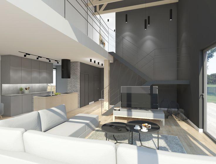 Projekt NA A-36 CE jest to projekt dużego rodzinnego domu