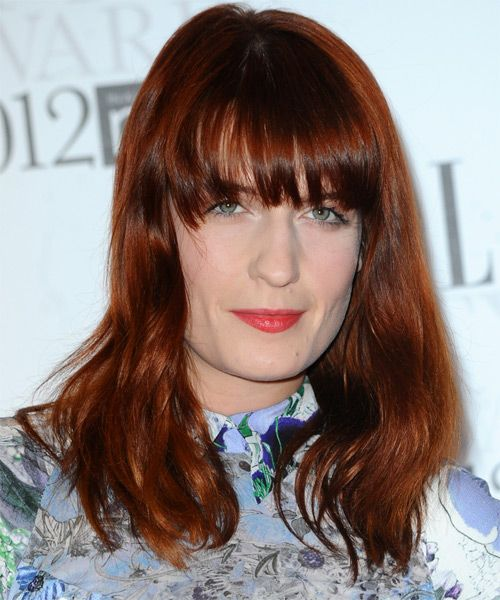 Florence Welch Hairstyle new