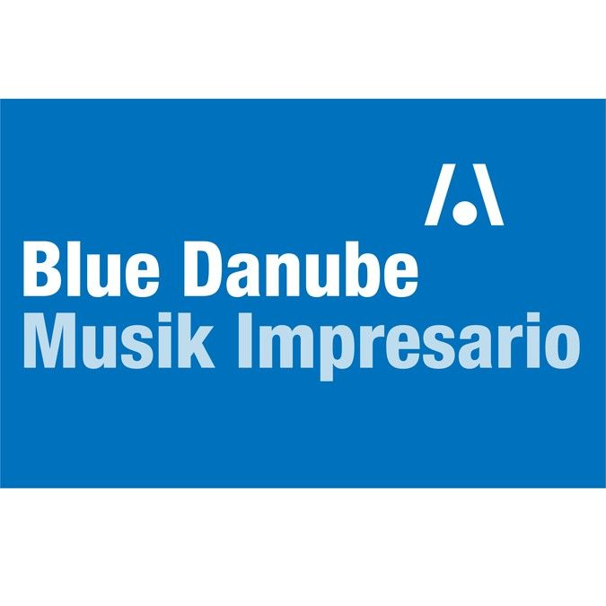 Logo Design for Blue Danube Musikimpresario...could also be BDMI or Blue Danube Musik Impresario by Michael.