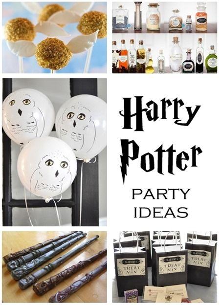 Idéias para festa Harry Potter