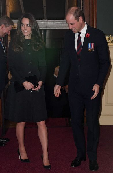 Kate Middleton Photos Photos - Catherine, Duchess of Cambridge and Prince William, Duke of Cambridge attend the annual Royal Festival of Remembrance at the Royal Albert Hall on November 12, 2016 in London, England. - Royal British Legion Festival of Remembrance At The Royal Albert Hall