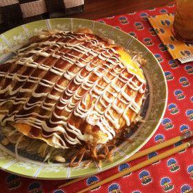 フライパン♪で簡単広島風お好み焼きー♪ by みなめろめろ [クックパッド] 簡単おいしいみんなのレシピが260万品