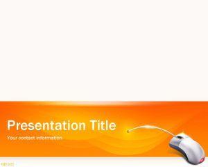 Orange Software PowerPoint Template