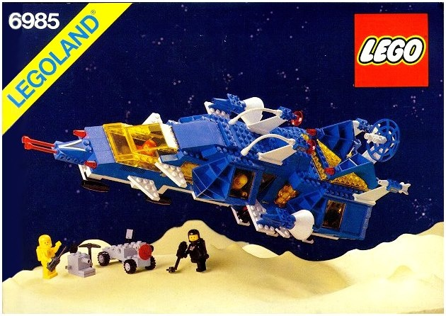 lego galaxy explorer instructions