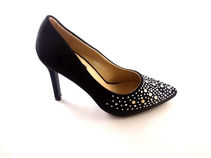 NEW LADIES HIGH HEELS SHOES WOMENS PARTY EVENING WEDDING SUMMER SHOES SIZE3-7.5