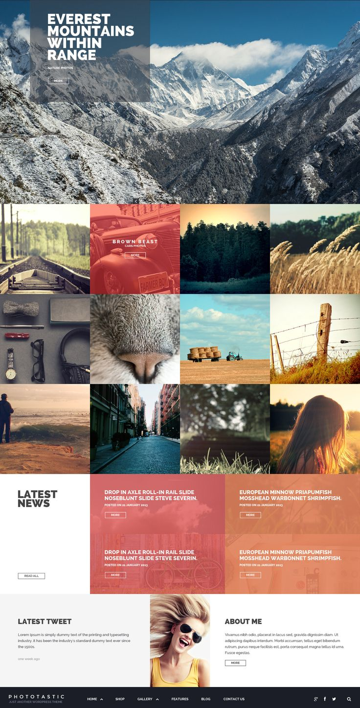 Best WordPress Themes Awards #unique #collection