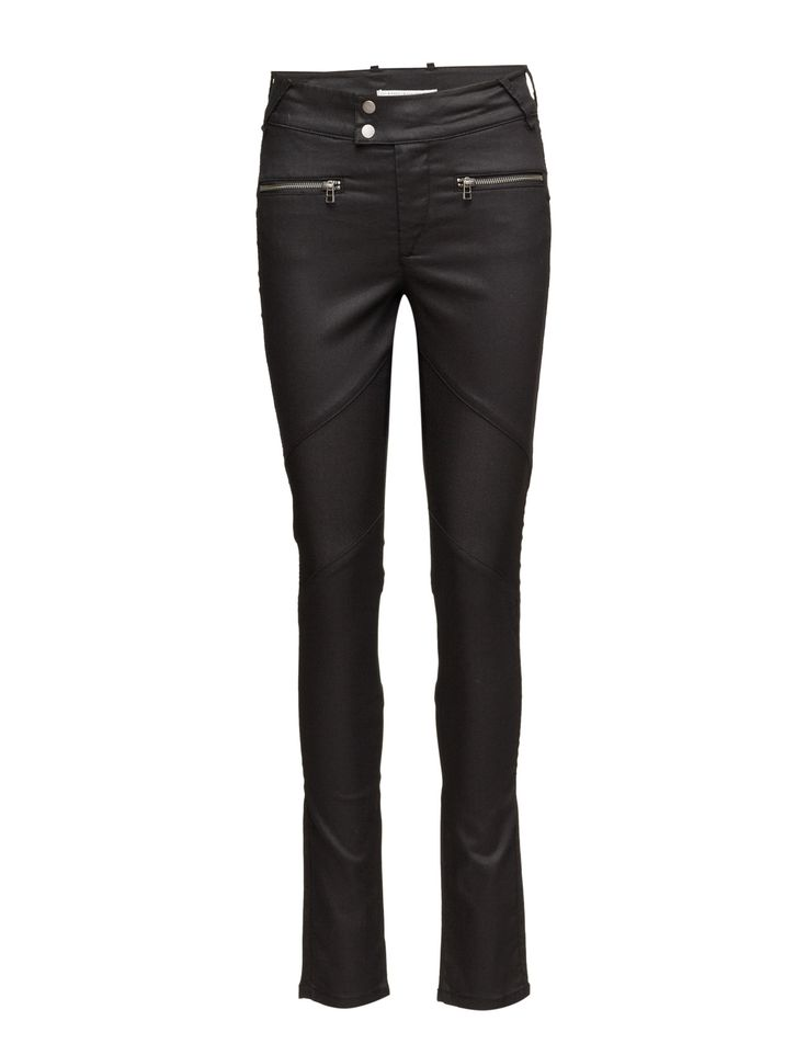 DAY - Day New York Glam Get noticed in these essential and versatile slim jeans from Day Birger et Mikkelsen for an edgy look.  Regular rise, slim leg Belt loops Double button and zip-fly closure Zip front pockets Stretch fit Back welt pockets