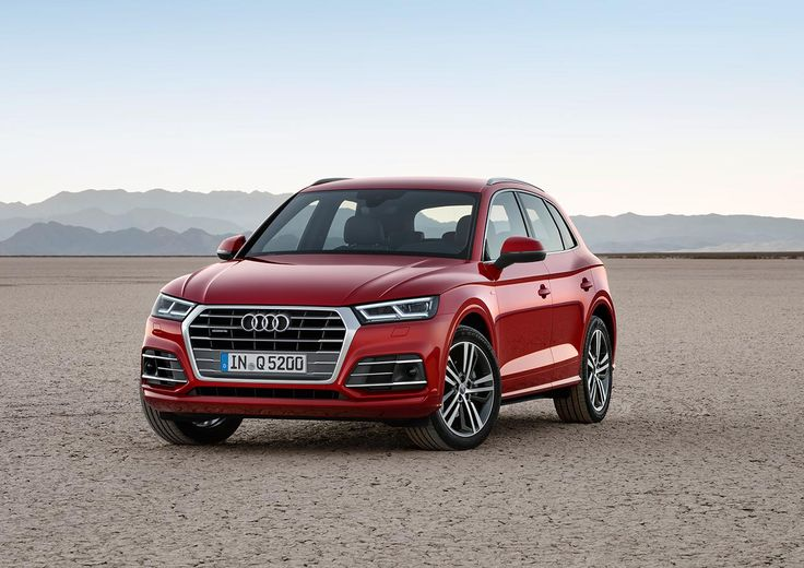 2017 Audi Q5 shows its new design at Paris Motor Show