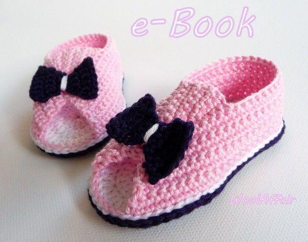 13 best babyschuhe images on Pinterest | Babyhäkelei, Stricken ...