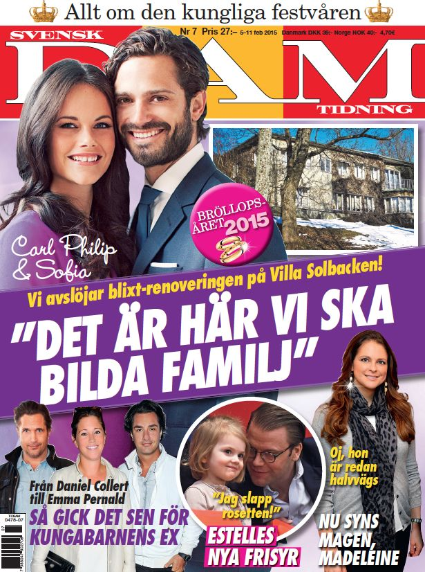 Prince Carl Philip and Sofia