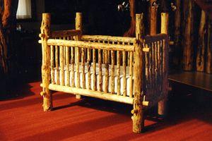 log crib