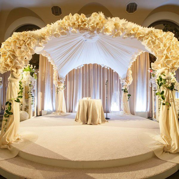 Wedding Altar Inspiration: 90 Best Images About White Uplighting On Pinterest