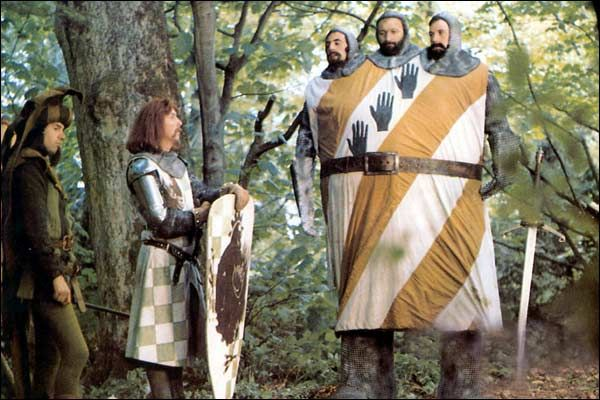 """""""Monty Python and the Holy Grail"""" (Terry Gilliam, Terry Jones, 1975)"""