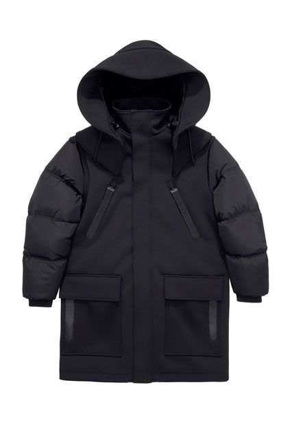The ENTIRE Alexander Wang For H&M Collection — Right Here! #refinery29 http://www.refinery29.com/2014/10/76326/alexander-wang-hm-entire-collection-pictures#slide59 Alexander Wang for H&M Men's parka, $299, available on November 6 at H&M.