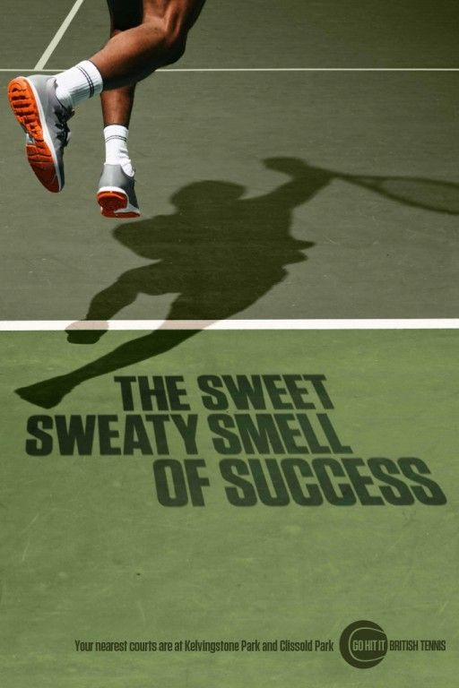Lawn Tennis Association - The Sweet Sweaty Smell of Success by Bartle Bogle…