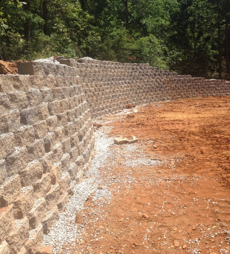 Retaining Wall Curved