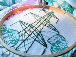 Harriet Popham Embroidery
