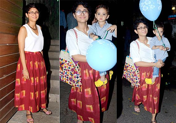Kiran Rao's style: Now and then (view pics)