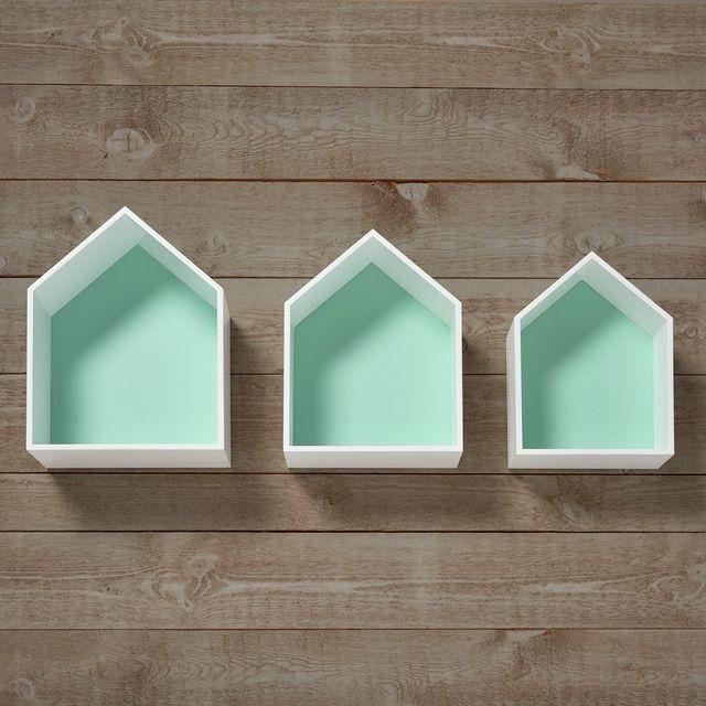 Set de 3 casitas estantes Mini Home - El Corte Inglés Nest