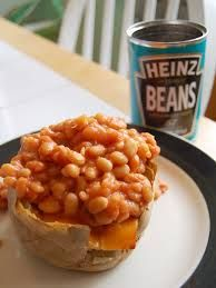 jacket potato and beans - Google Search