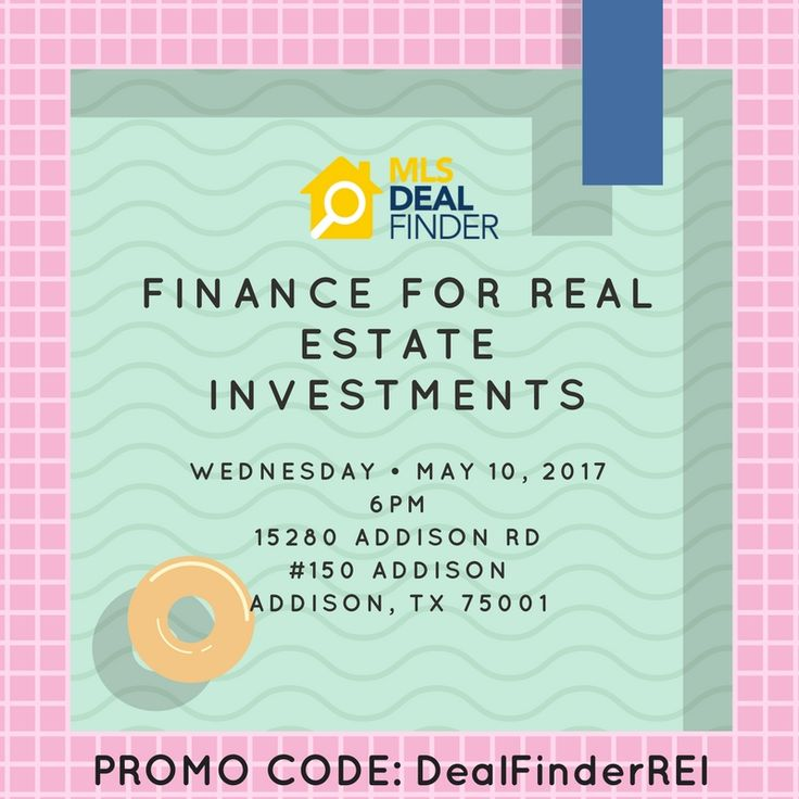 Come and join us! This course will teach you how to structure your finances so you can accurately assess profitability in prospective deals. RSVP > https://www.eventbrite.com/e/finance-for-real-estate-investments-tickets-32504238051 #MLS #fastcma #cma #realestateagent #realestate #realtor #broker #investor #investment #investmentproperty #realestateinvestment #mlsclass
