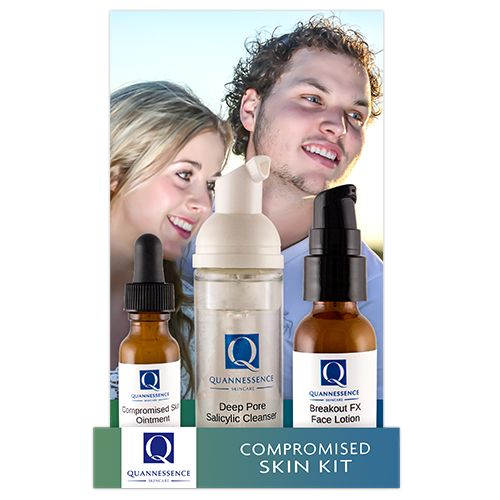 Compromised Skin Kit | Ointment, Cleanser, Lotion | Available at Vibrant Salon & Spa