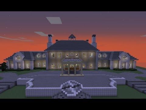 Massive Minecraft Mansion
