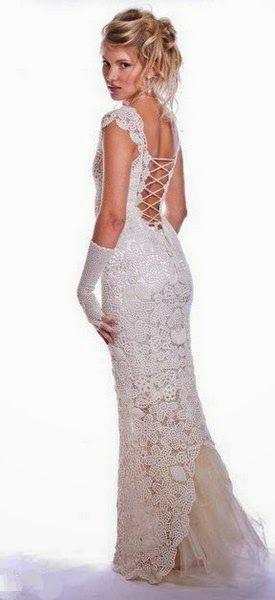 Bridal crochet…….. / TRICO y CROCHET-madona-mía: Novias Crochet Irlandés-Modelos
