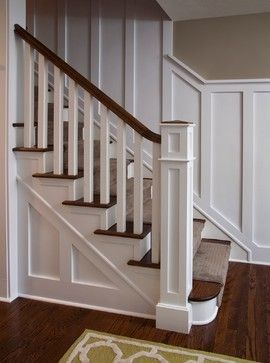 1930's design stairs- stairs that could lead up from the basement