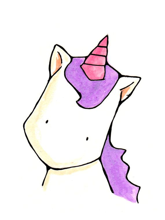 Dessin Licorne!!!!!!♥♡♥♡♥ SO CUTE