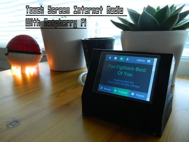 Picture of Touchscreen Internet Radio, Raspberry