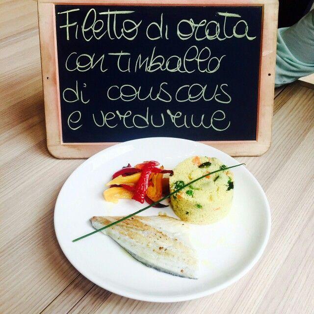 #piattodelgiorno #lunch #fish #spaziodonizetti