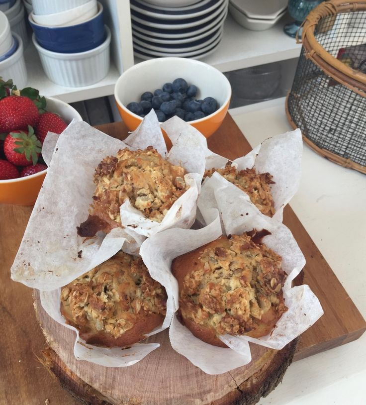 """This is Matt Stone's recipe for really delicious muffins! The recipe is from his great book """"The Natural Cook Maximum Taste Zero Waste"""", see here for link. He's an interesti…"""