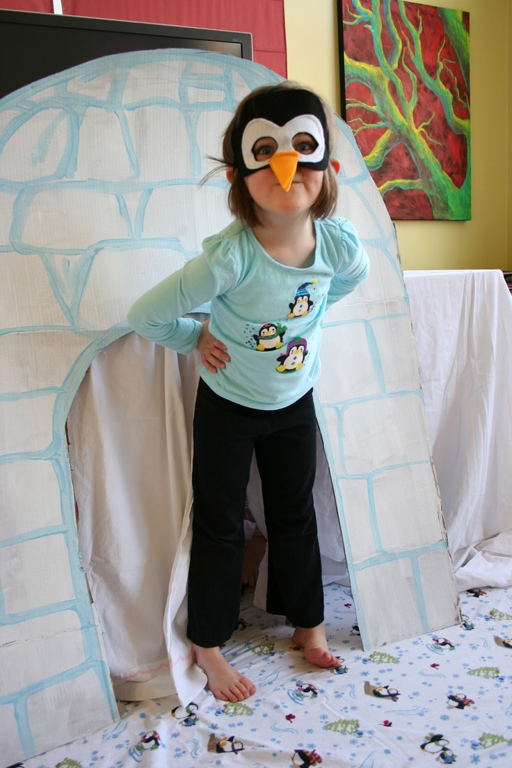 Pink and Green Mama: Penguin Party Games