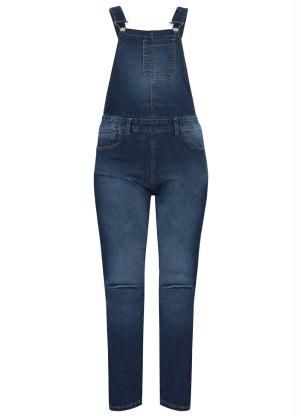 Jardineira Jeans (Azul)