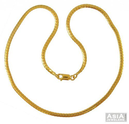 "18"" mens gold chain 