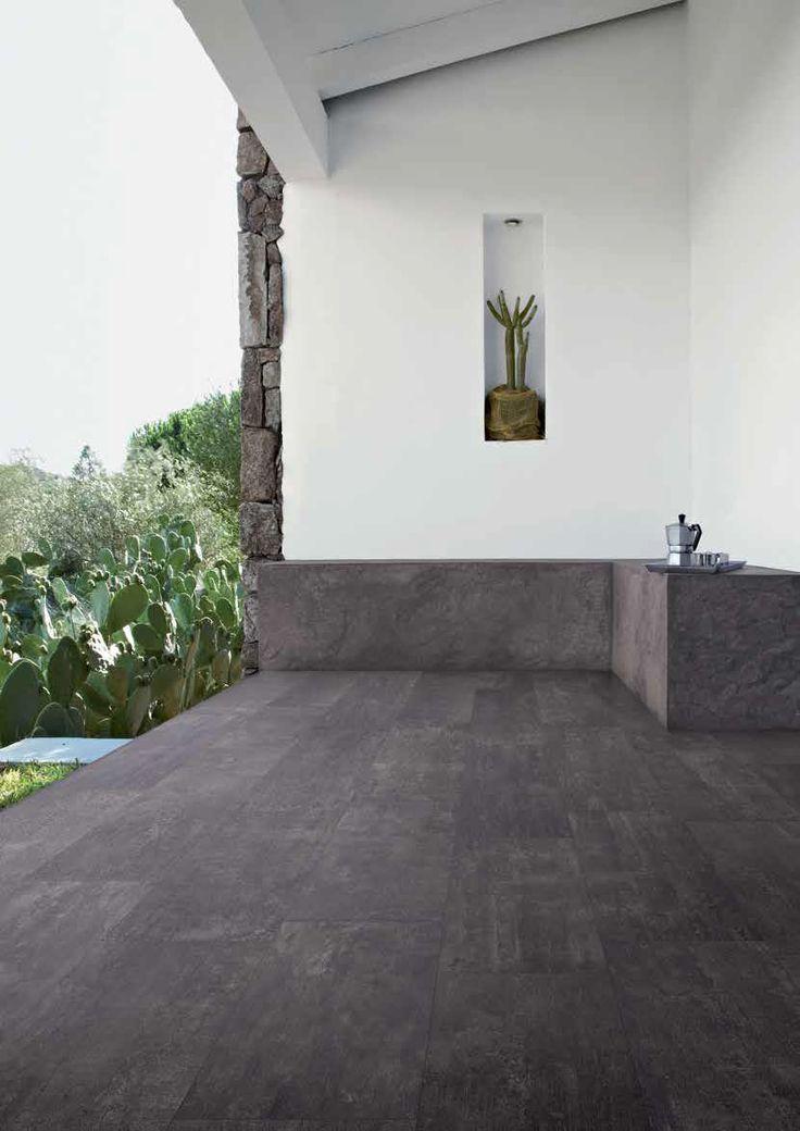 #Emilceramica #Square Lavagna Naturale 60x120 cm 983B9R | #Gres #cemento #60x120 | su #casaebagno.it a 45 Euro/mq | #piastrelle #ceramica #pavimento #rivestimento #bagno #cucina #esterno