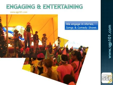 Clowns, jugglers, comedy shows, magic show and so much more!