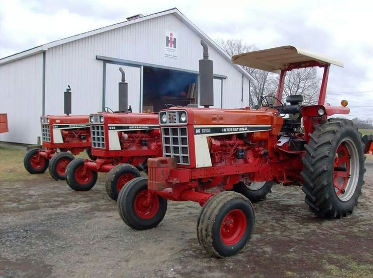 686 International Tractor : Ideas to try about tractors antique