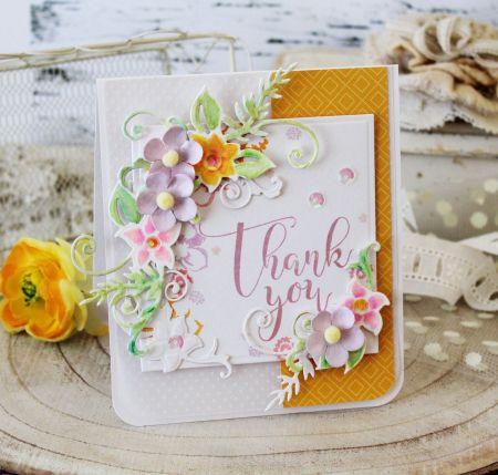 spellbinders floral lace frame die set...