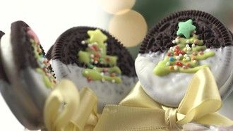 Oreo Pops: Süße Rezept-Idee zu Weihnachten