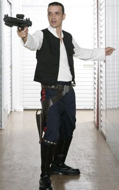 STAR WARS COSTUMES: : Star Wars Han Solo Costume - A New Hope Replica- Best on the Web. Great value at $159.99.