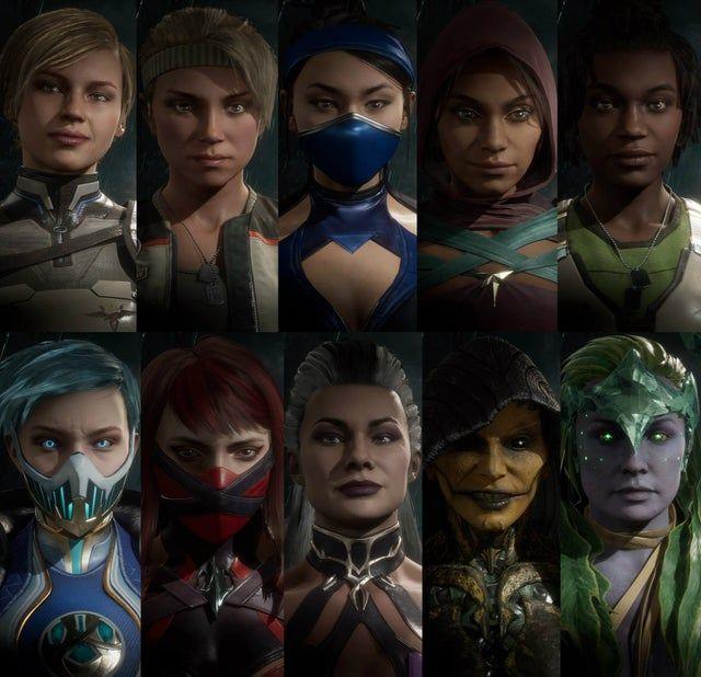 Women Of Mortal Kombat 11 Good Vs Evil Mortalkombat In 2021 Mortal Kombat Jade Mortal Kombat Mortal Kombat Art
