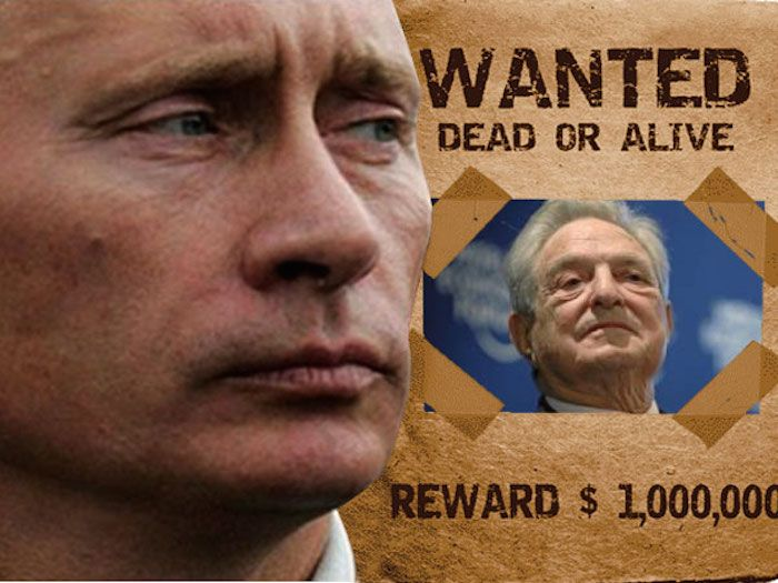 """Russia have officially declared that Billionaire George Soros is a wanted man in their country, citing him and his organizations as a """"threat to Russian national security""""."""