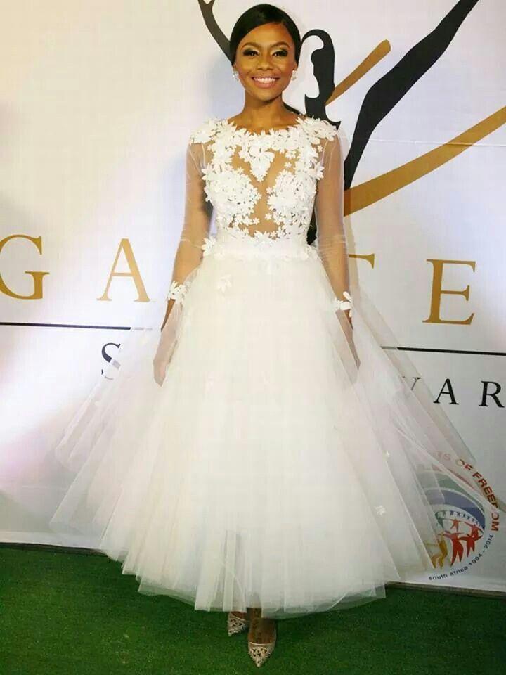 Bonang shined bright like a diamond at the 2014 gauteng sports awards