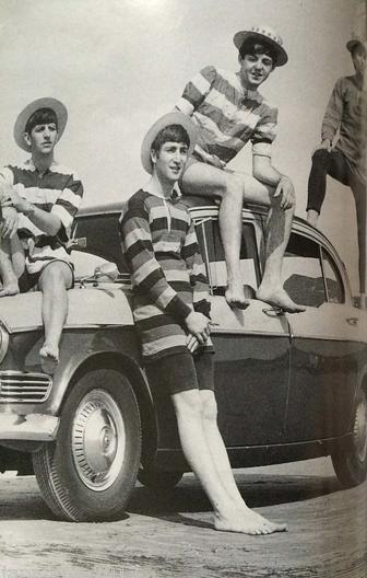 The Beatles by Dezo Hoffmann 1963